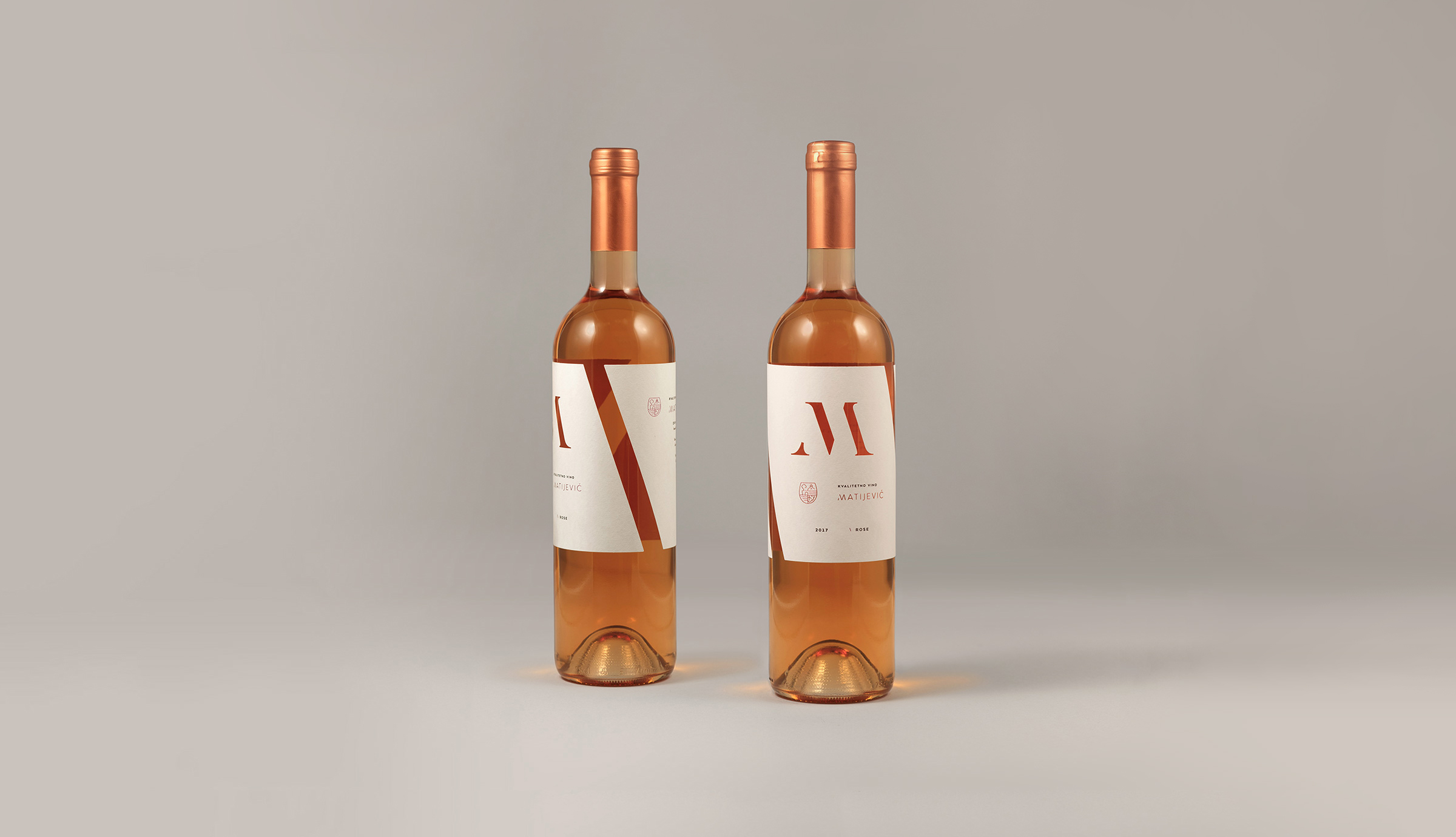 Rose wine, wine label design, custom label, blindruck, Rose wine design, Branding of the wine edition, winery branding,
